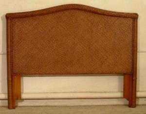 Wicker Headboard