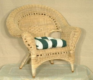 Wicker Rocker For Children