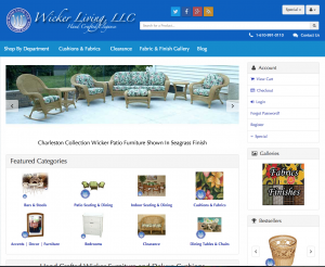 New Wicker Living Website