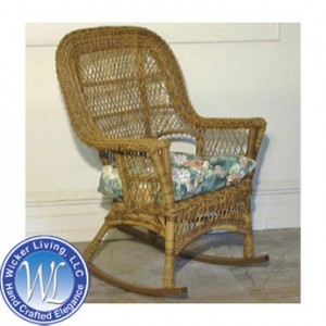 Bon Bar Harbor Wicker Rocker