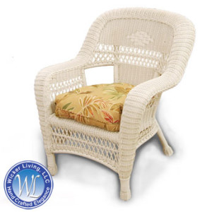 Standard Wicker Resin Chair