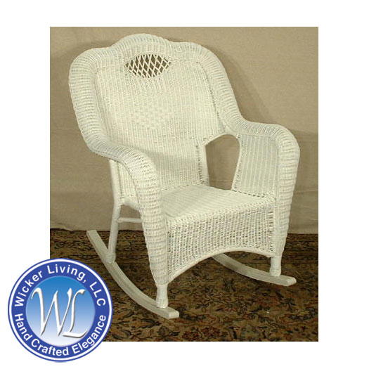 All Weather Wicker Rocking Chair Outdoor Wicker