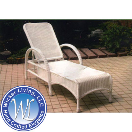 Darby Adjustable Outdoor Chaise Lounge Chair