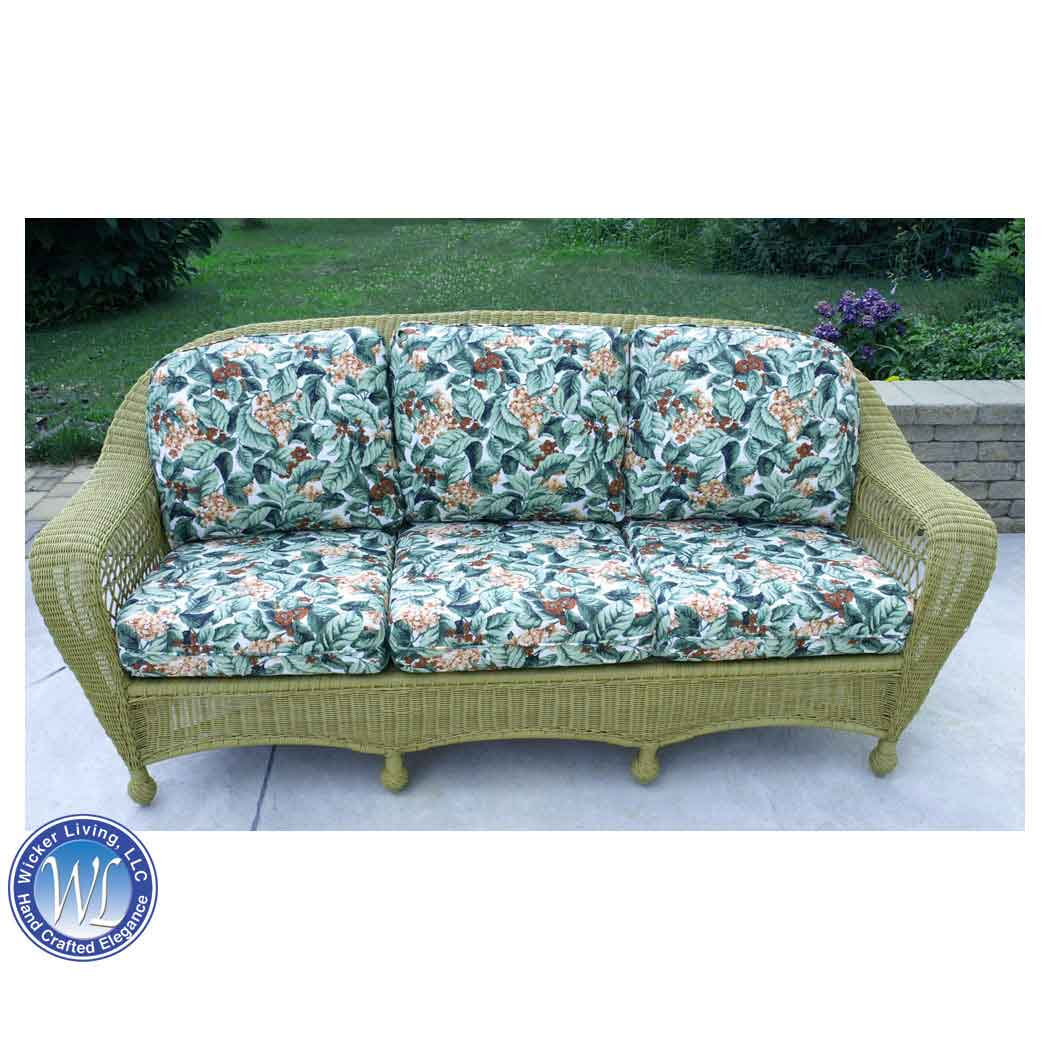Good Sea Grass Green Charleston Sofa