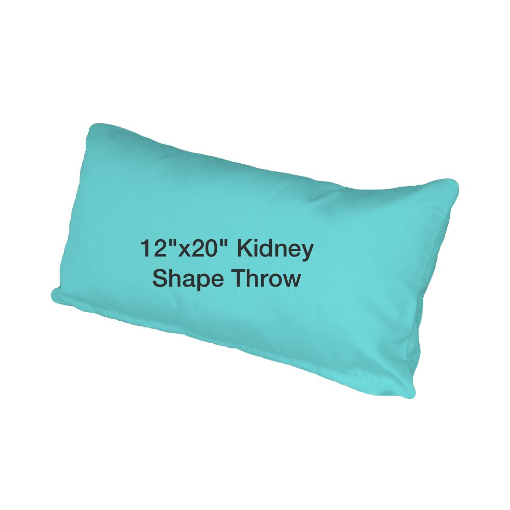 Kidney Shaped Pillow by Lloyd Flanders