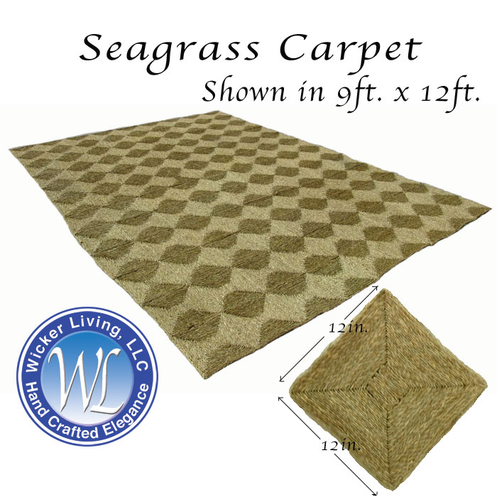 Sea Grass Carpet For Sale Casual But Tropical Experience - Seagrass floor squares