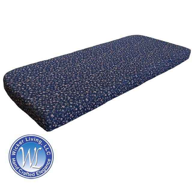 Foam Love Seat Cushion With Rounded Back Corners