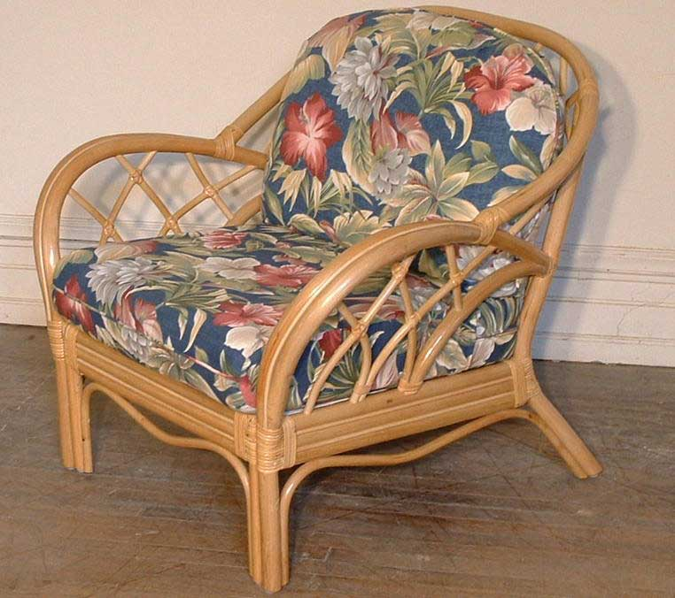 Rattan Chair Cushion Set