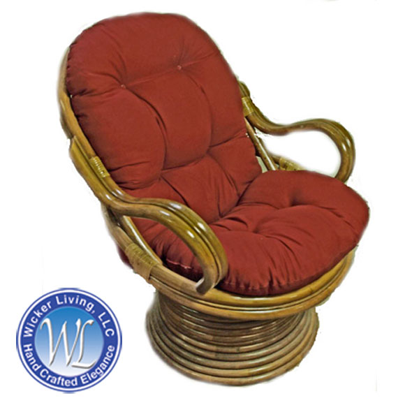 Swivel Rocker Cushion Rattan Furniture Cushions