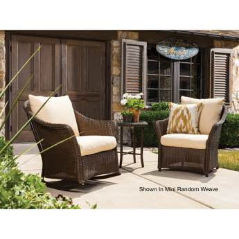 Lloyd Flanders Weekend Retreat Wicker Lounge Chair