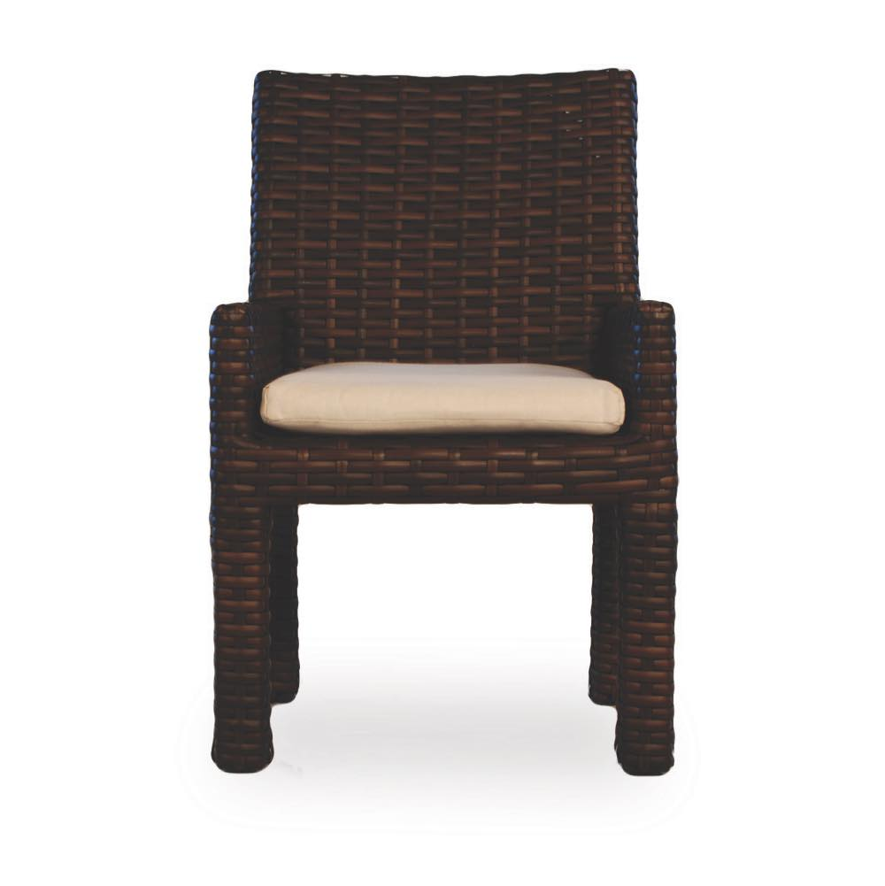 Lloyd Flanders Contempo Resin Wicker  Dining Armchair