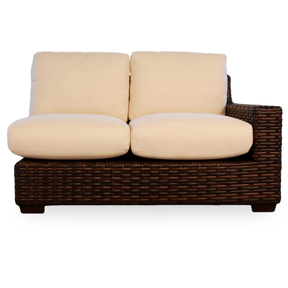 Lloyd Flanders Contempo Outdoor Wicker Loveseat Sectional