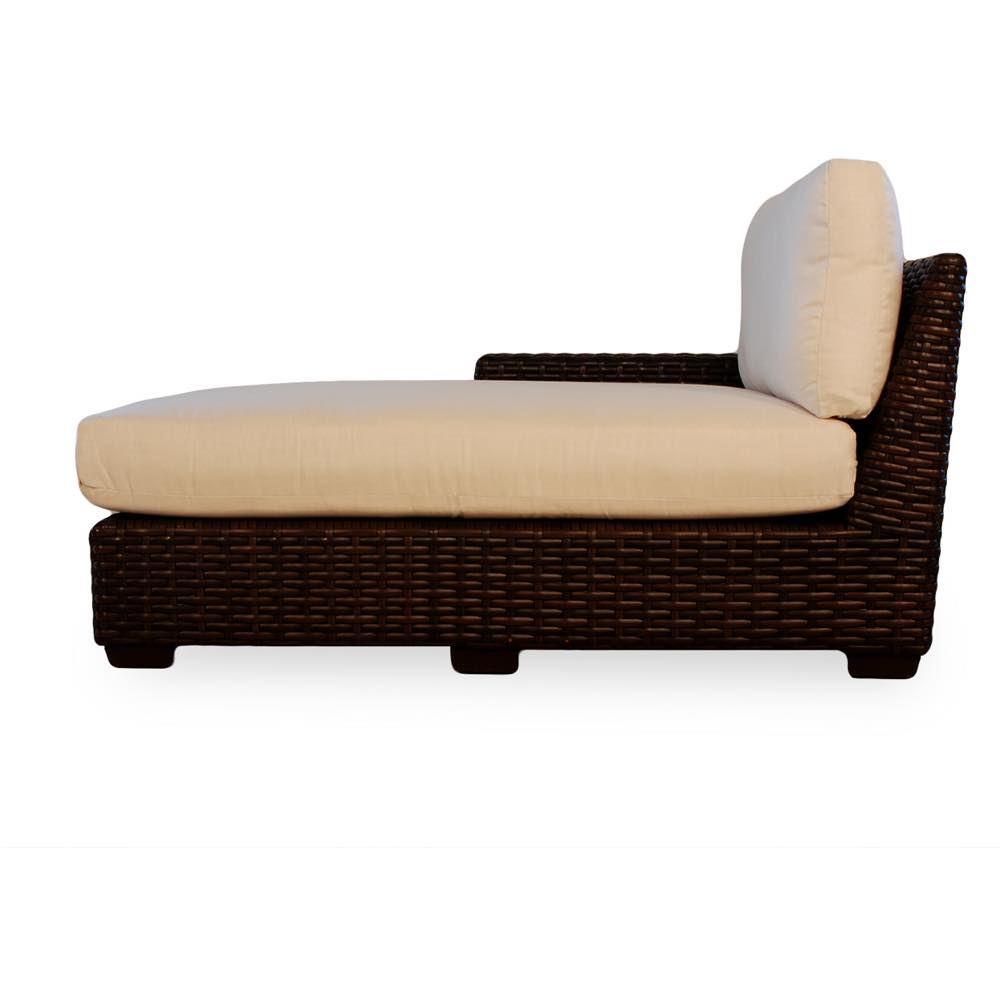 Lloyd Loom Contempo Outdoor Wicker Right Arm Chaise Lounge