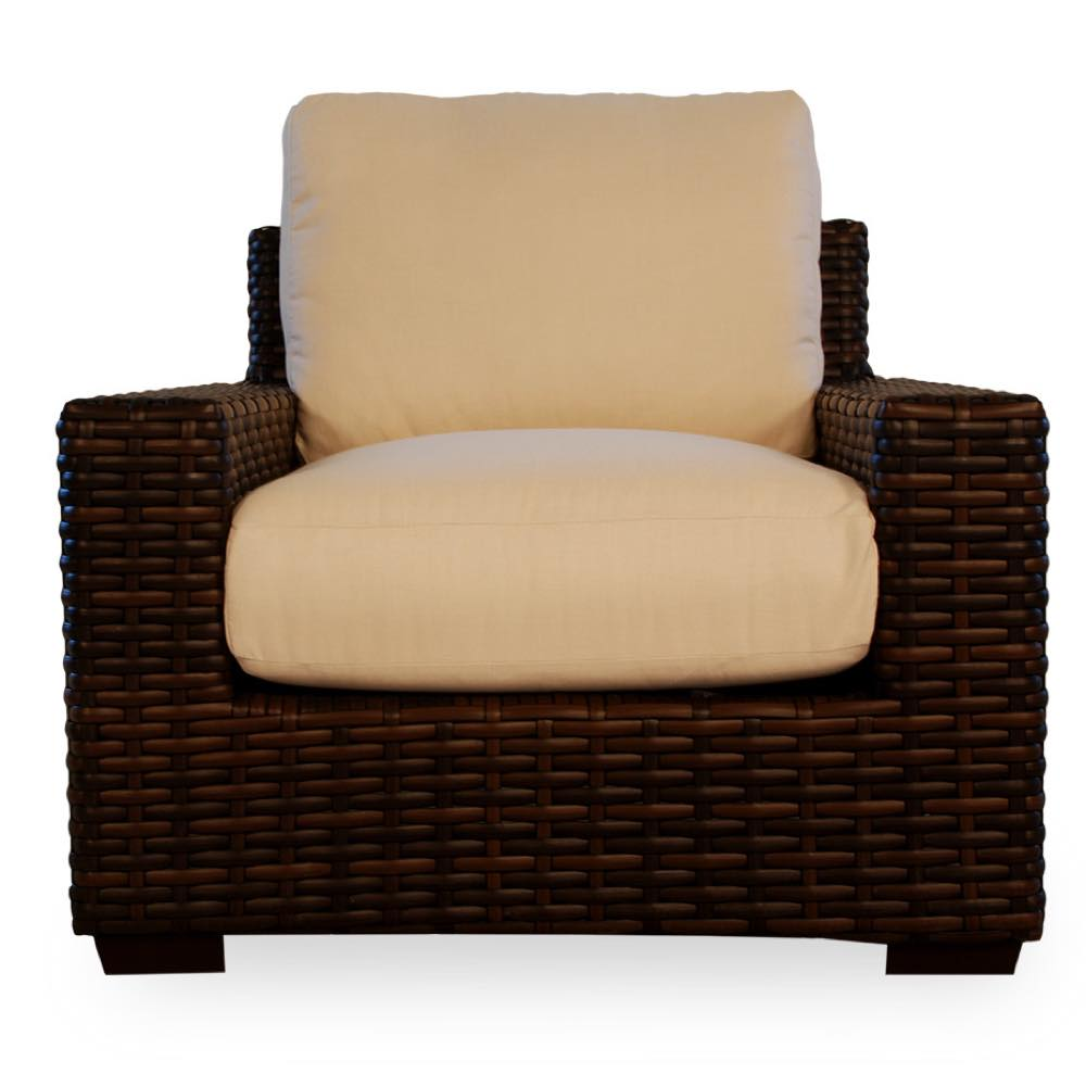 Lloyd Loom Contempo Outdoor Wicker Lounge Chair