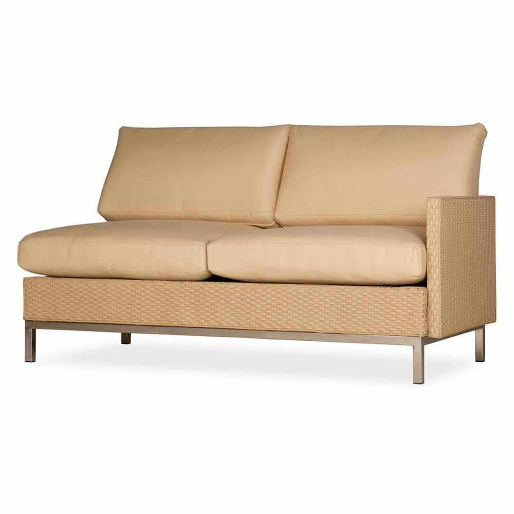 Lloyd Flanders Elements Left Arm Settee