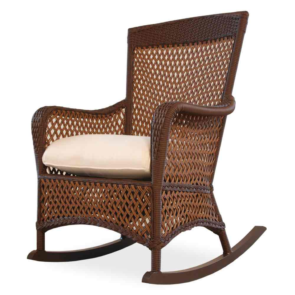 Lloyd Flanders Grand Traverse All Weather Wicker Porch Rocker