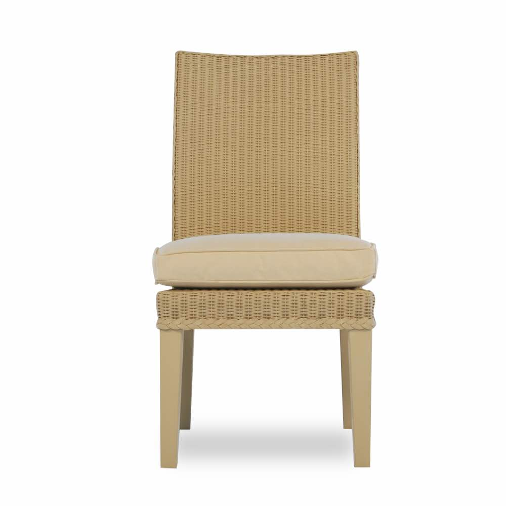 Lloyd Flanders Hamptons Armless Wicker Dining Chair