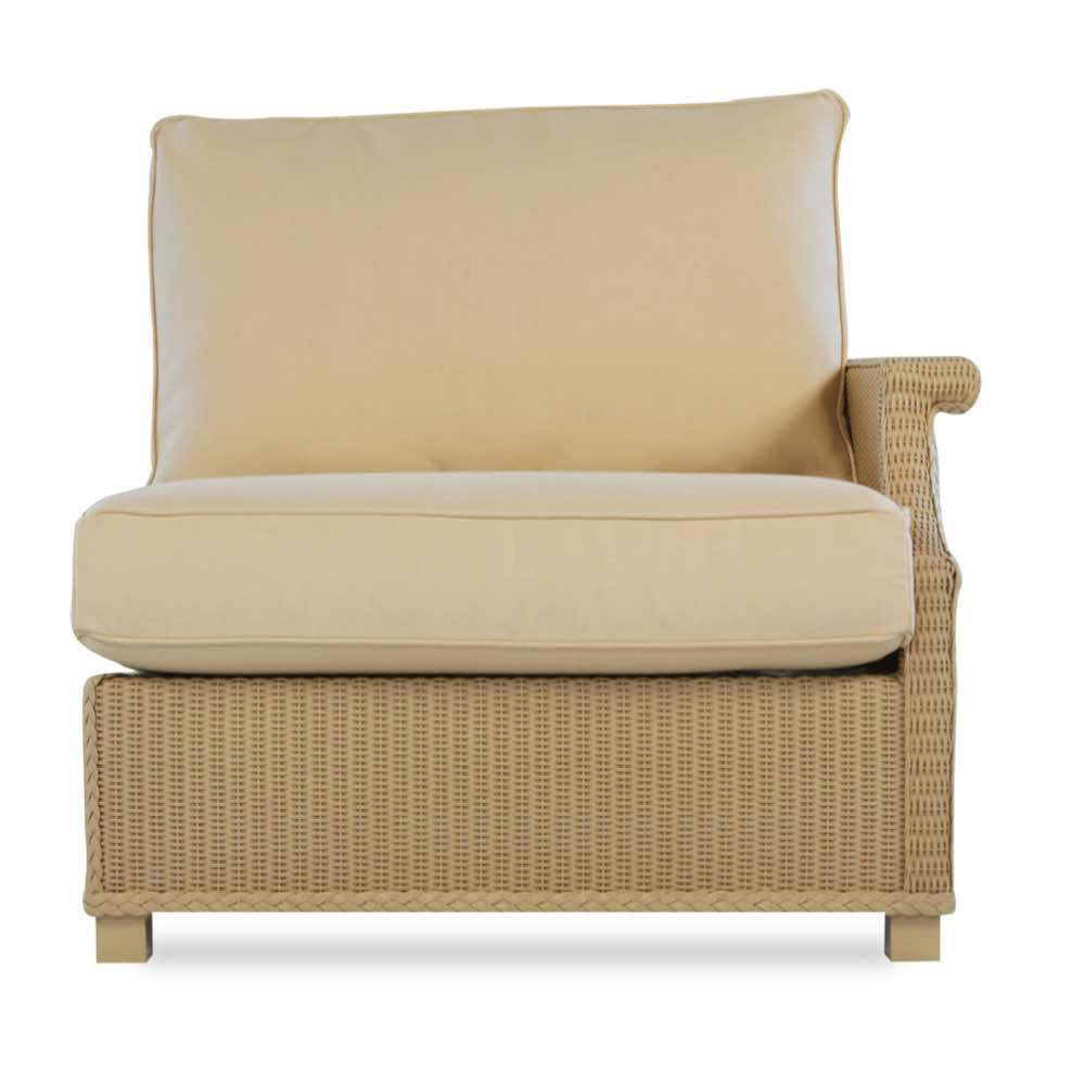 Lloyd Flanders Hamptons Left Arm Sectional Lounge Chair