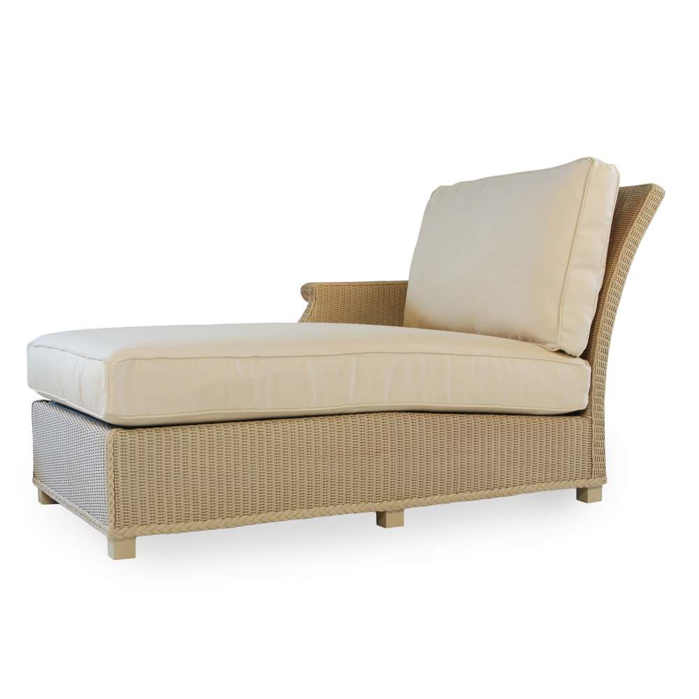 chaise lounge right arm hamptons furniture. Black Bedroom Furniture Sets. Home Design Ideas