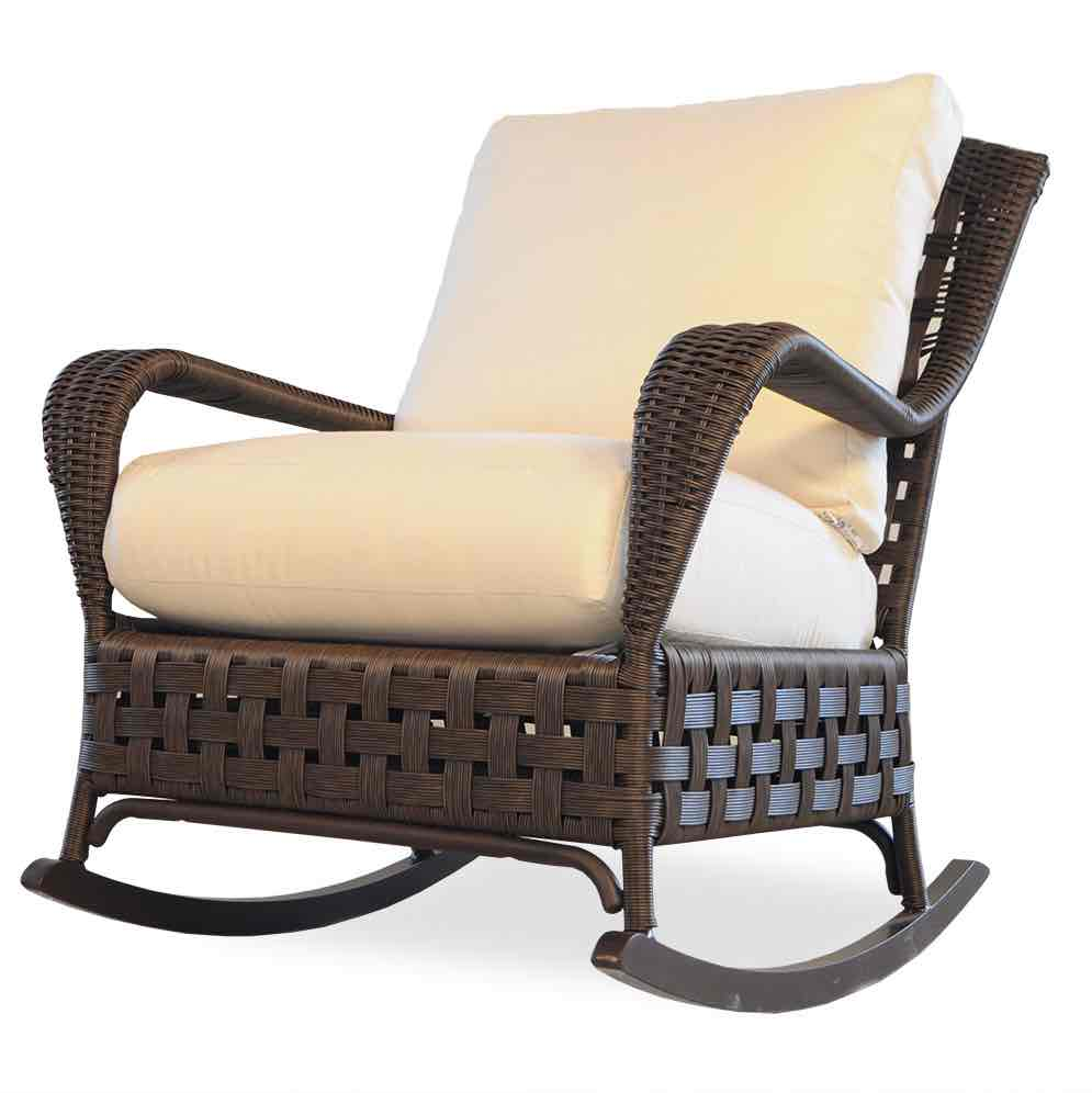 Lloyd Flanders Haven Outdoor Wicker Lounge Rocker