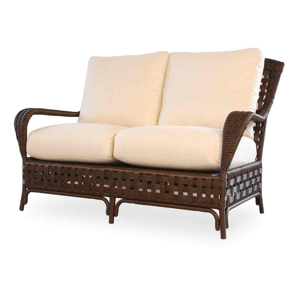 Lloyd Flanders Outdoor Wicker Loveseat From The Haven Collection
