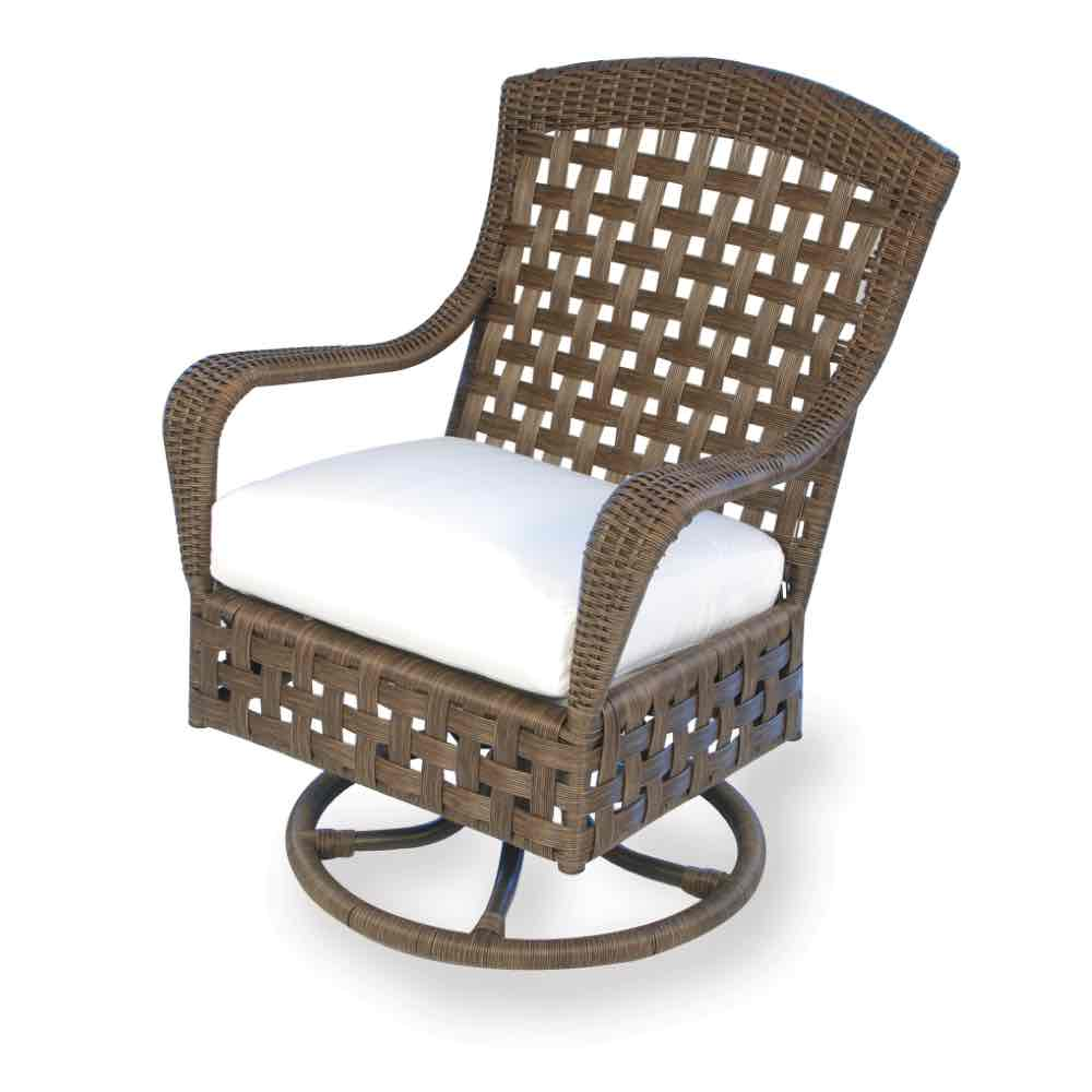 Wicker Swivel Chair | Outdoor Dining Furniture