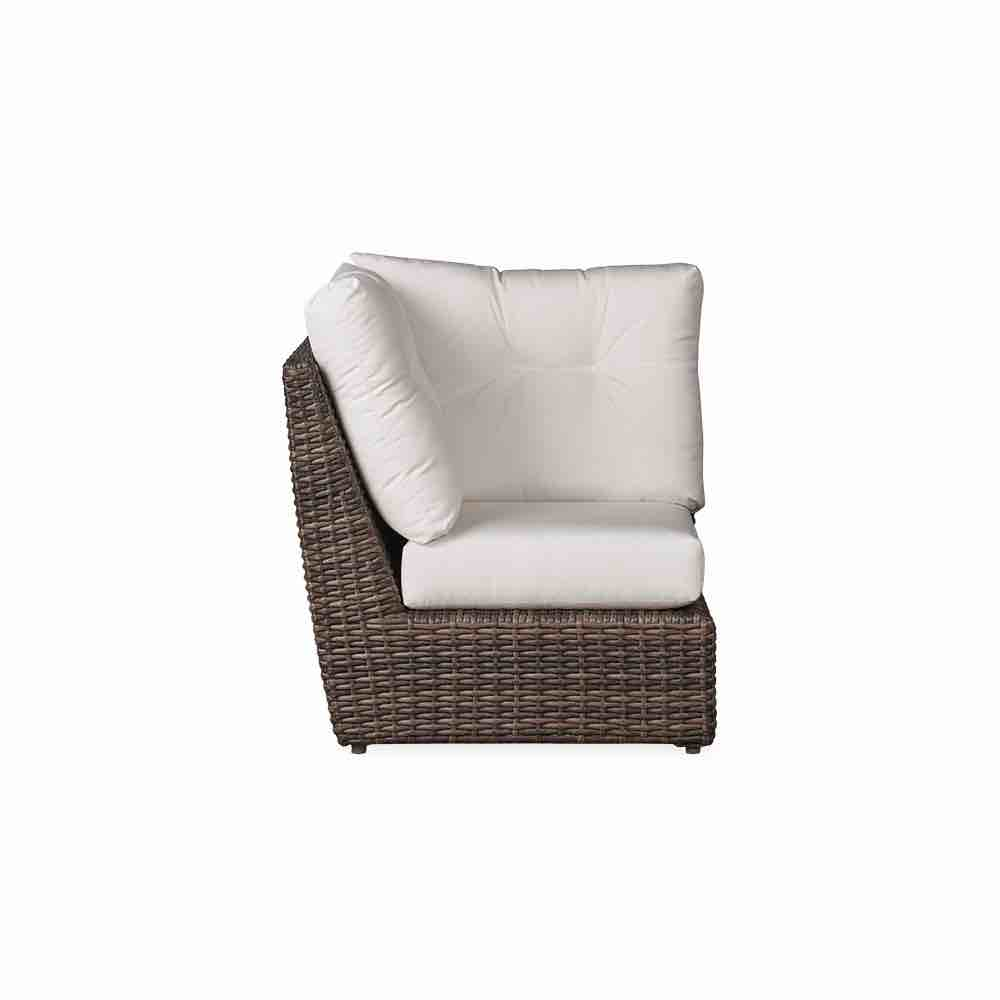 Lloyd Flanders Largo Outdoor Wicker Corner Sectional