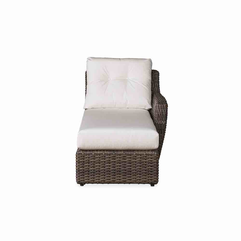 Lloyd Flanders Largo Left Arm Wicker Chaise