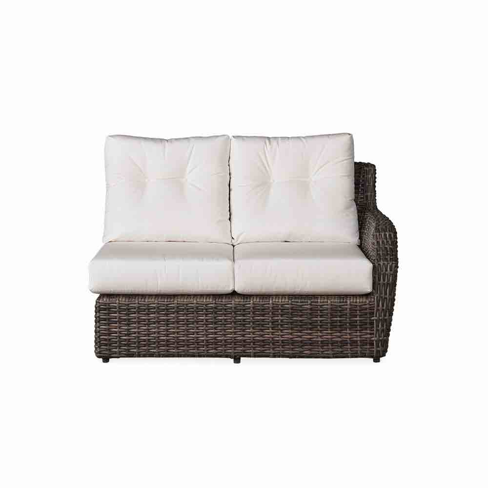 Lloyd Flanders Outdoor Wicker Left Arm Loveseat