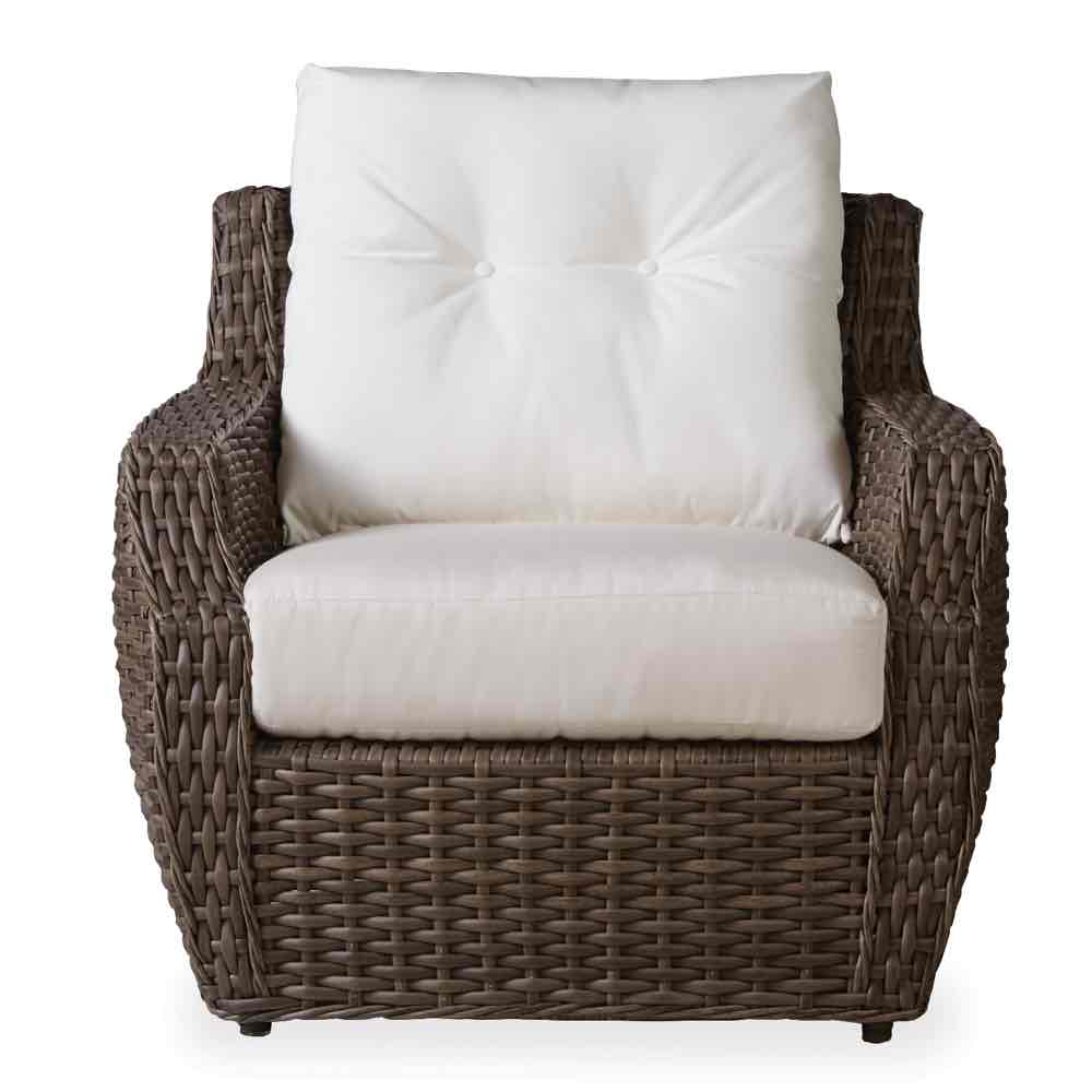 Lloyd Flanders Outdoor Wicker Lounge Chair