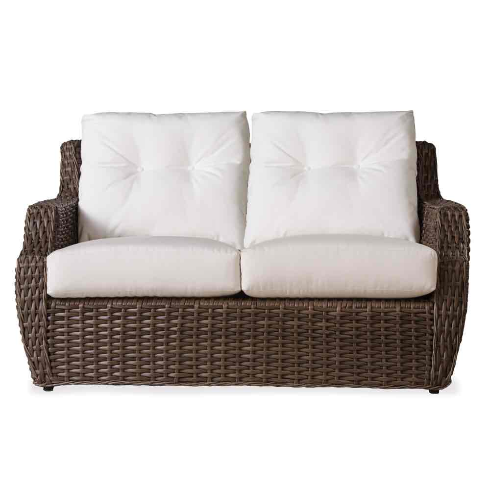 Lloyd Flanders Outdoor Wicker Loveseat