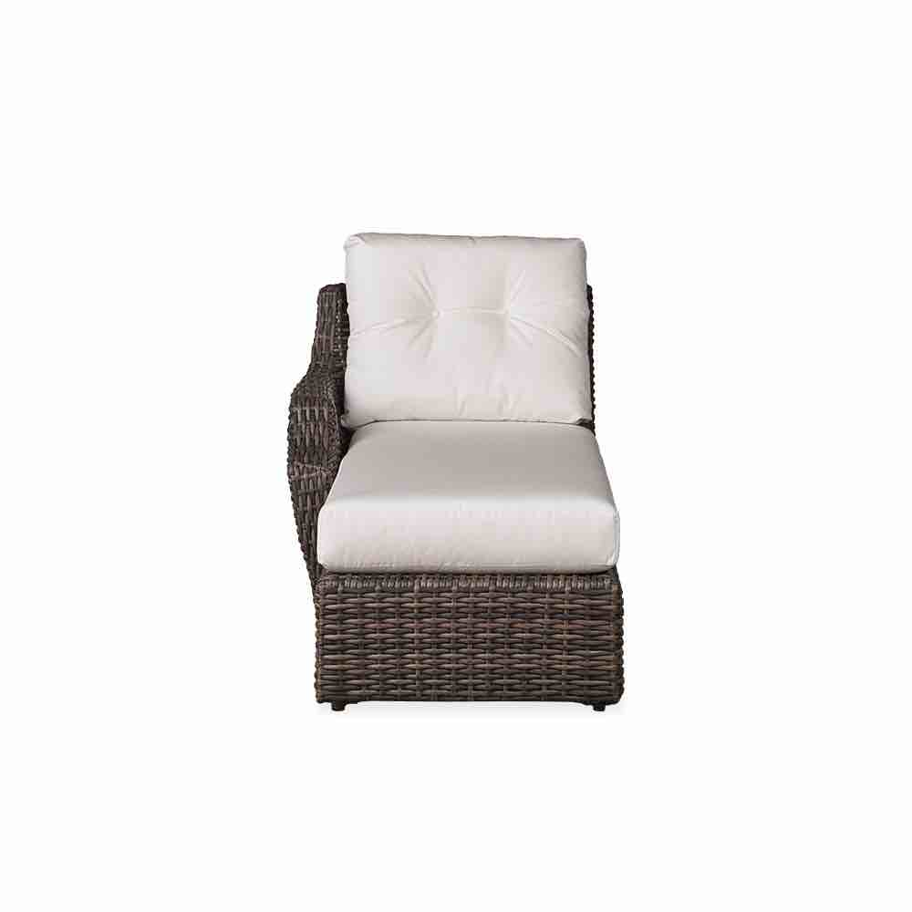Lloyd Flanders Largo Right Arm Wicker Chaise