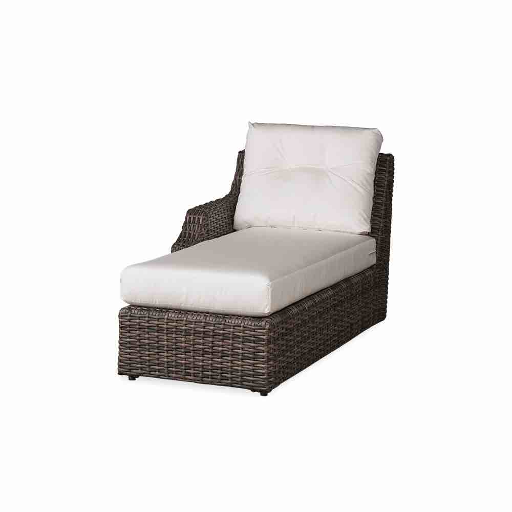 Lloyd Flanders Largo Right Arm Outdoor Wicker Chaise
