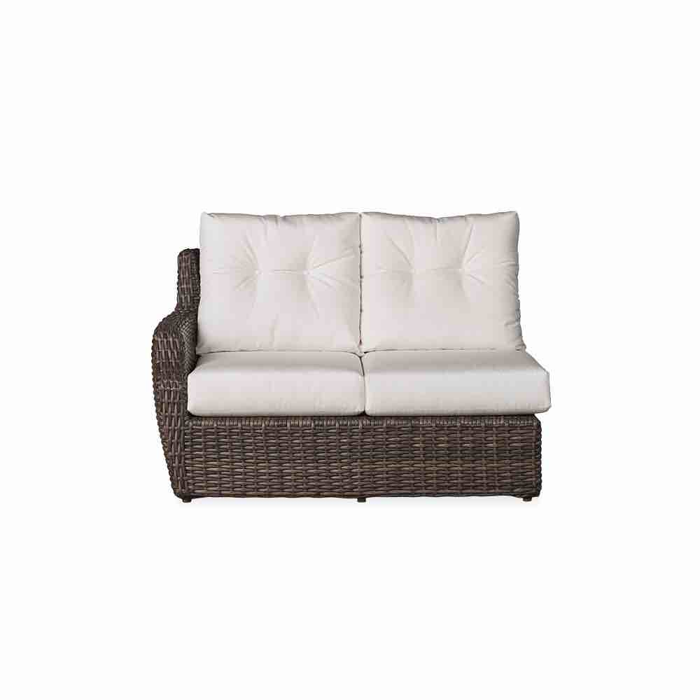 LLoyd Flanders Largo Right Arm Wicker Sectional Loveseat