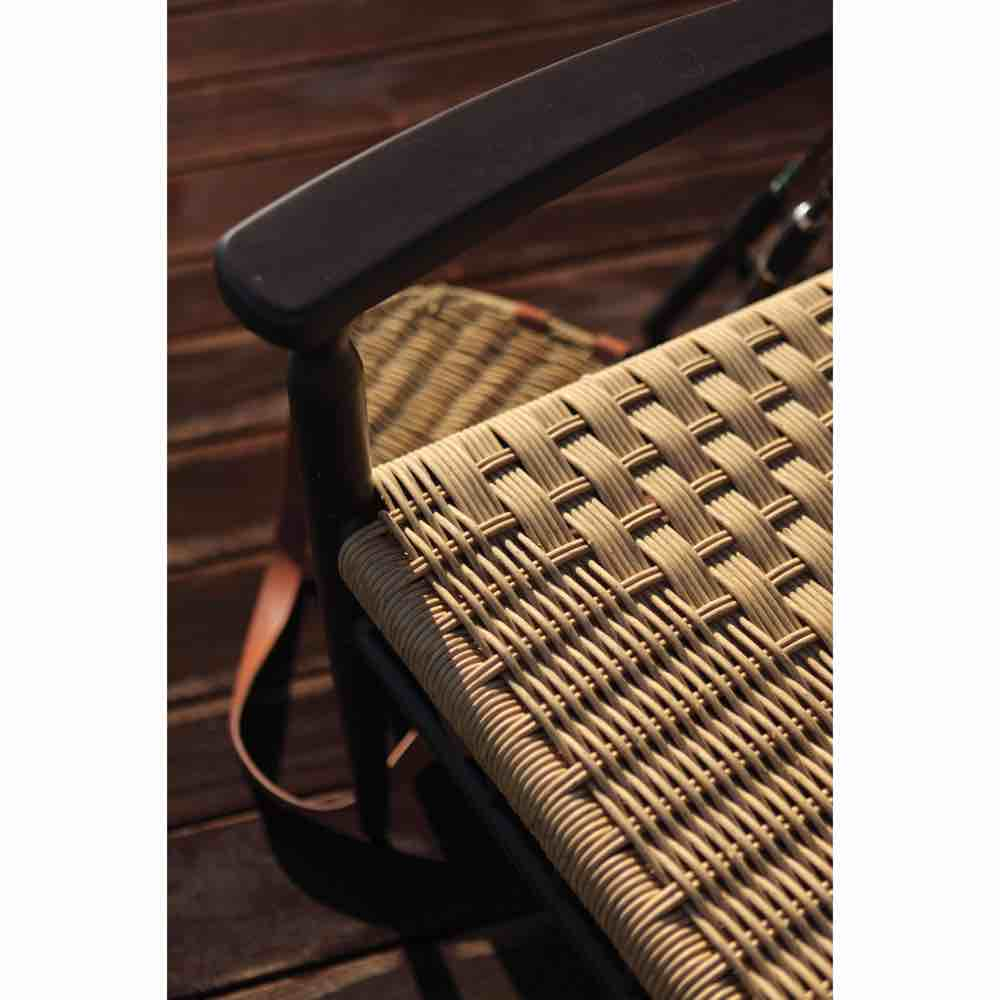 Lloyd Flanders Low Country All Weather Wicker Dining Arm Chair
