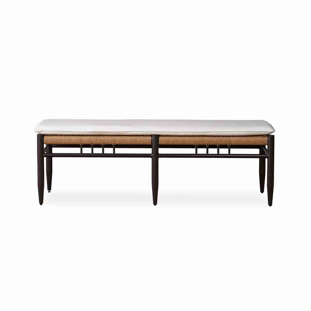 Lloyd Flanders Low Country Wicker Dining Bench