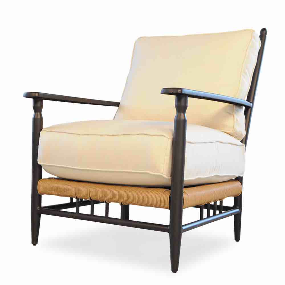 Llloyd Flanders Low Country Wicker Lounge Chair