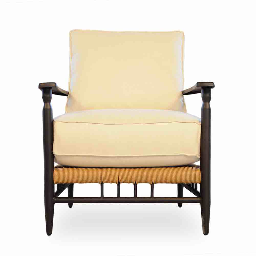 Lloyd Flanders Low Country Outdoor Wicker Lounge Chair