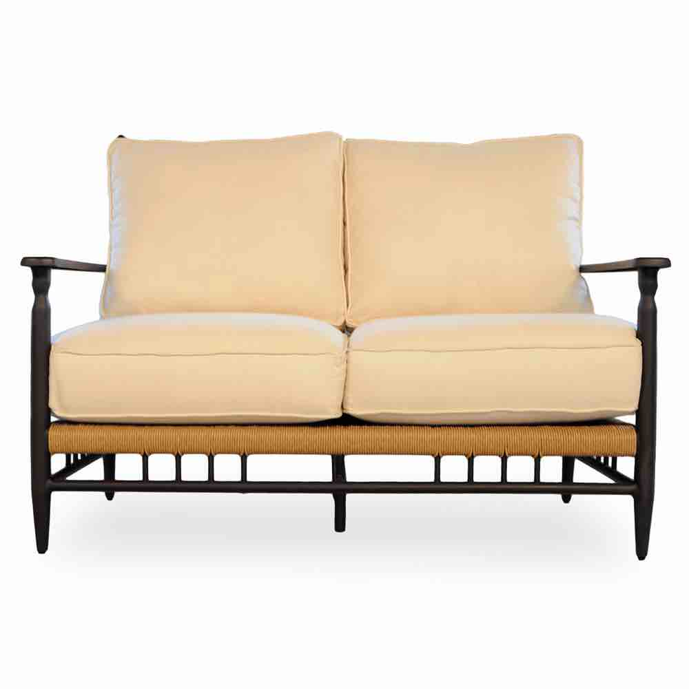 Lloyd Flanders Low Country All Weather Wicker Loveseat