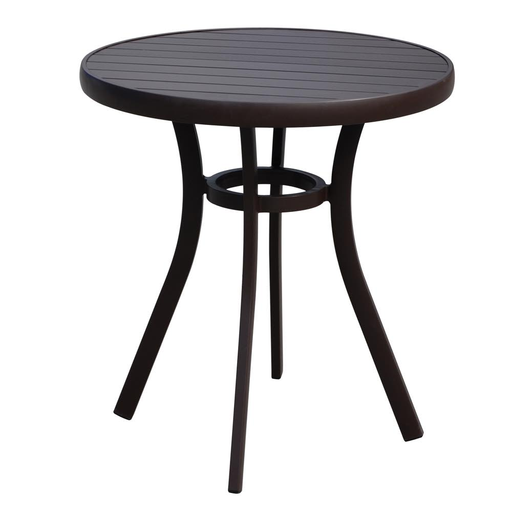 Lloyd Flanders Lux Bistro Table Anthracite Finsh
