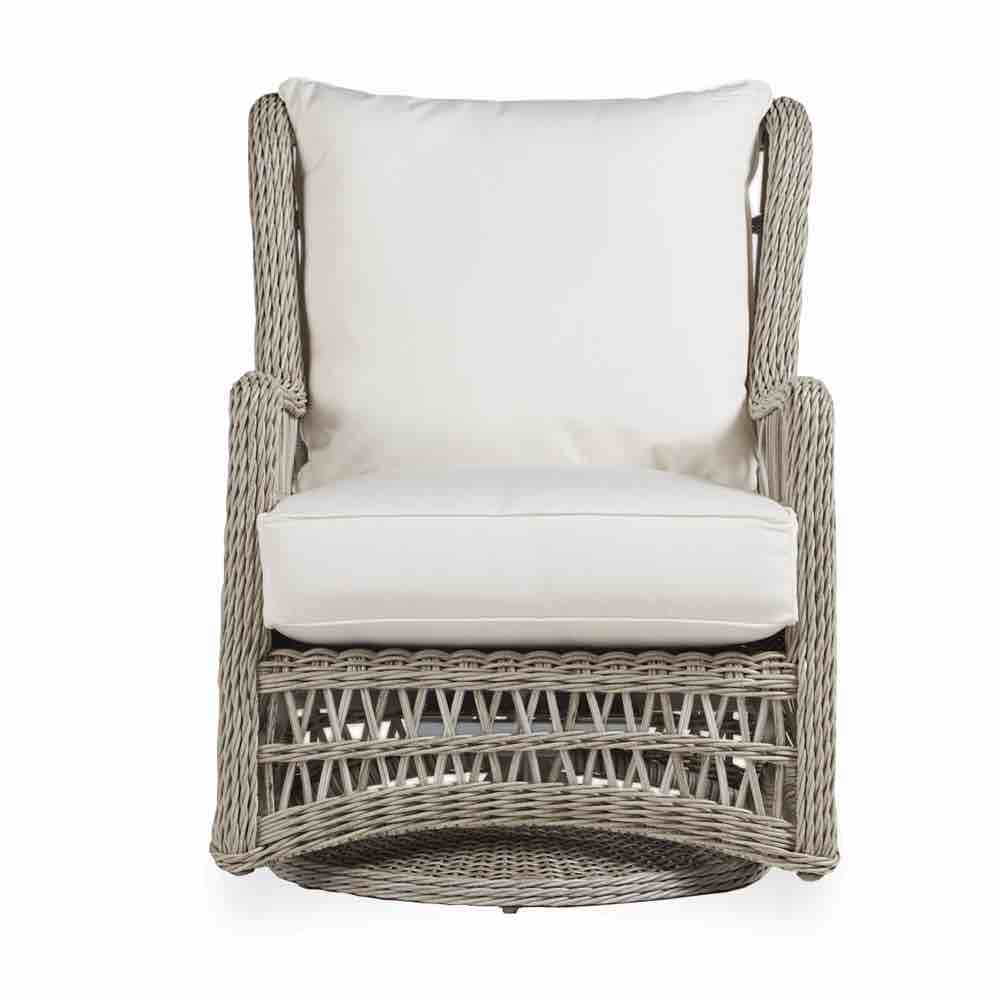 Wicker Swivel Glider Patio