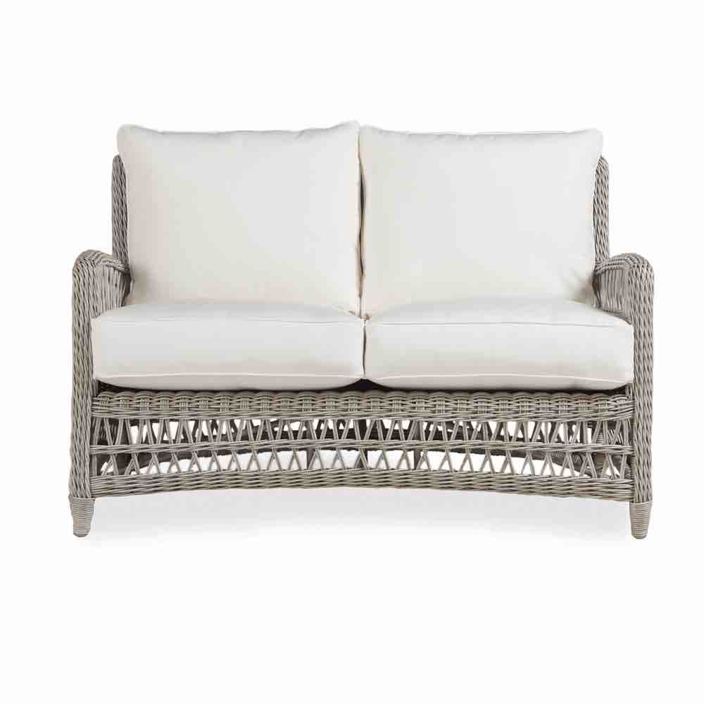 Lloyd Flanders Outdoor Wicker Loveseat From The Mackinac Collection
