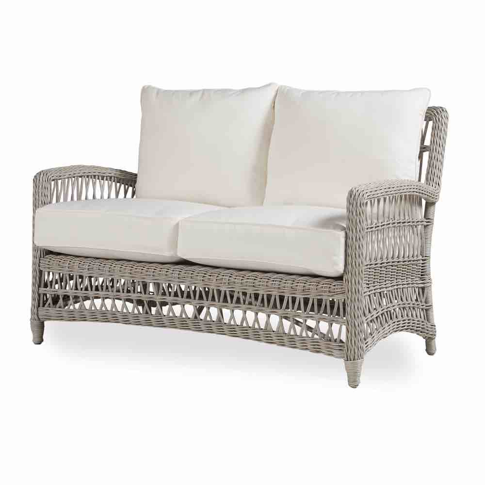 Lloyd Flanders Resin Wicker Loveseat From The Mackinac Collection