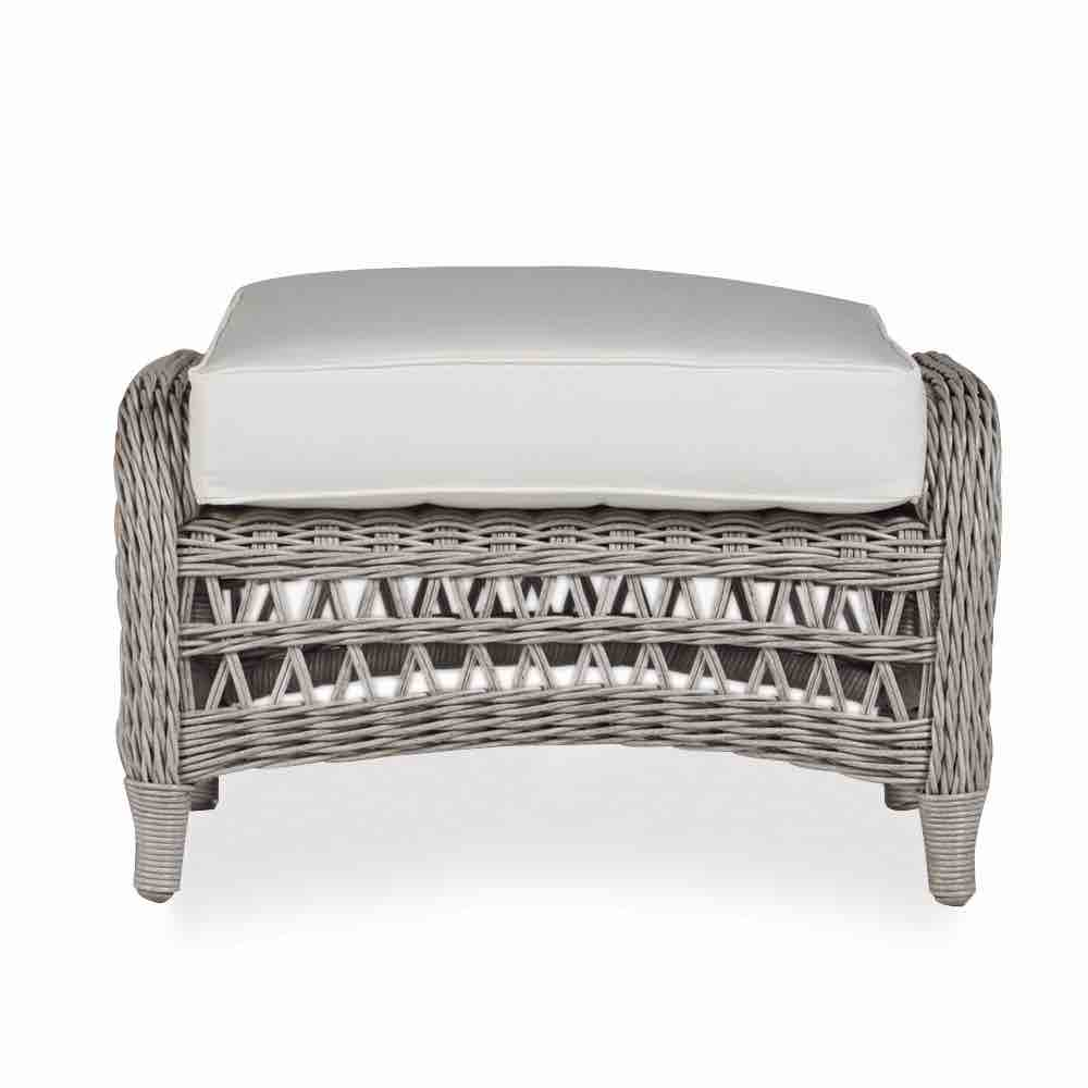 Lloyd Flanders Mackinac Outdoor Wicker Ottoman