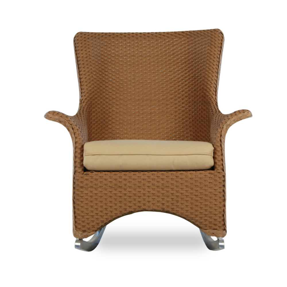 Lloyd Flanders Mandalay Wicker Porch Rocker