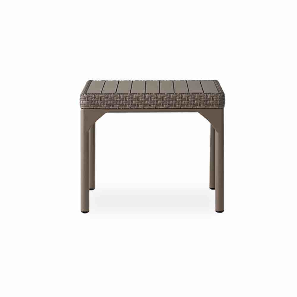 Lloyd Flanders-Martinique 24.5 Square Outdoor Wicker End Table