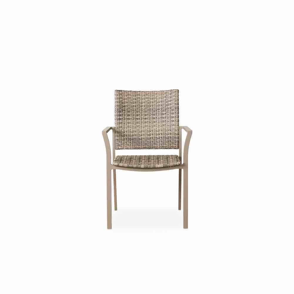 Lloyd Flanders-Martinique Wicker Outdoor Dining Chair