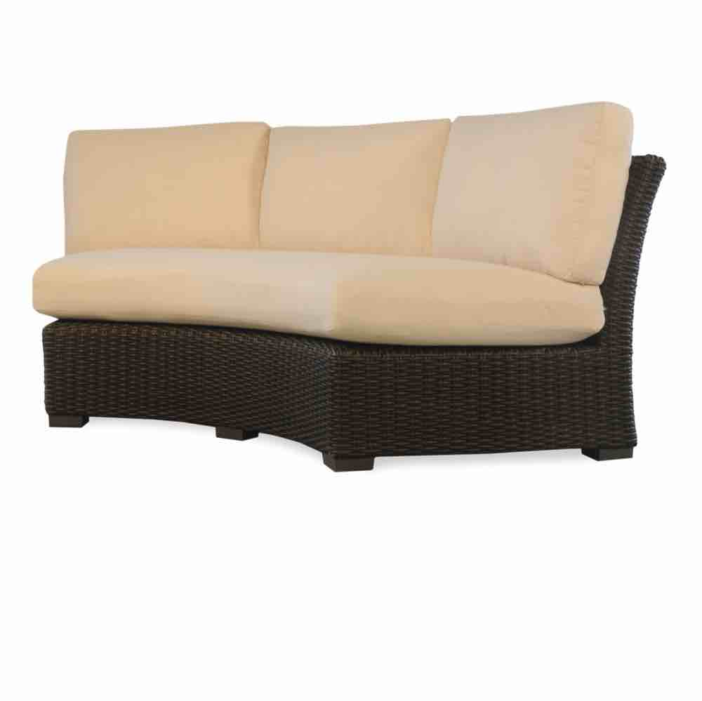 Lloyd Flanders Mesa Curved Outdoor Wicker Sofa Sectional
