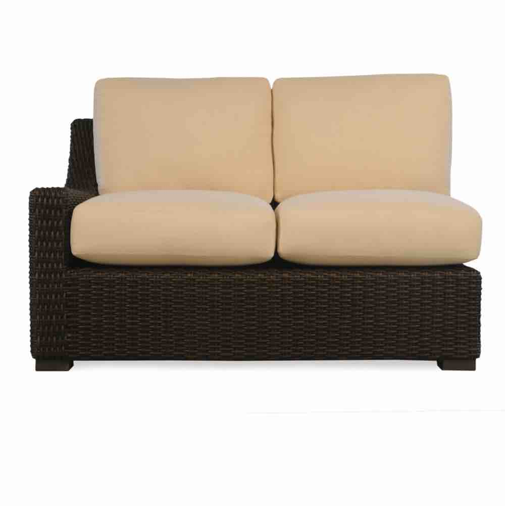 Lloyd Flanders Right Arm Outdoor Wicker Loveseat