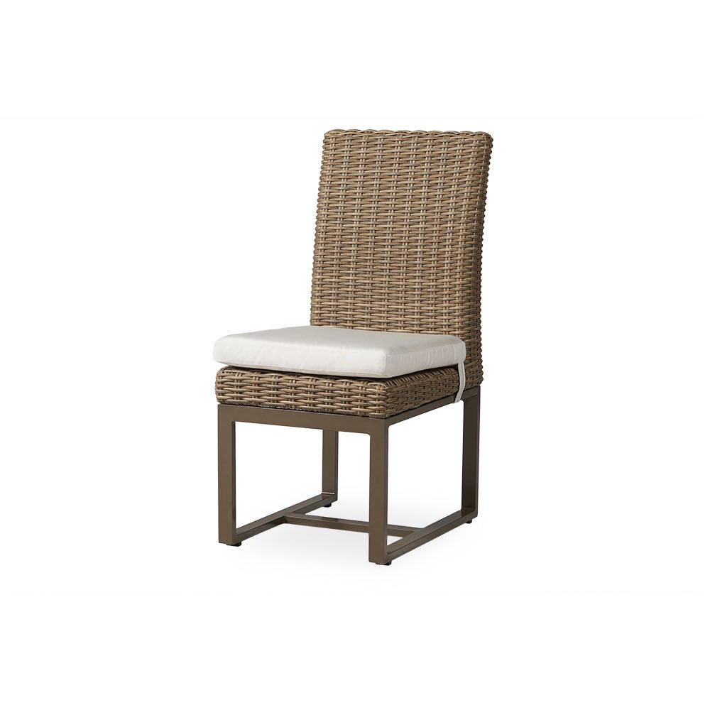 Lloyd Flanders Milan Armless Wicker Dining Chair